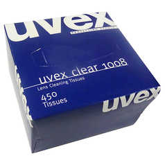 Uvex Clear Lens Cleaning Tissues