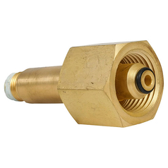 BOC Inlet Stem and Nut for Nitrogen Regulators