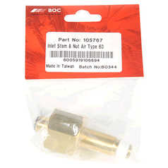 BOC Inlet Stem and Nut for Air Regulators