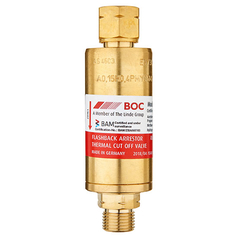 BOC High Flow Regulator End Fuel Gas Flashback Arrestor