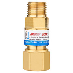 BOC Standard Flow Torch End Oxygen Flashback Arrestor