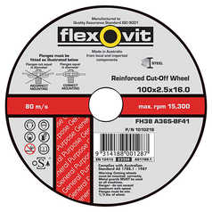 Flexovit Multi Material Cut-Off Wheel