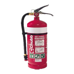 Chubb Dry Powder Fire Extinguisher