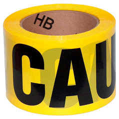 Polyprint Caution Barrier tape