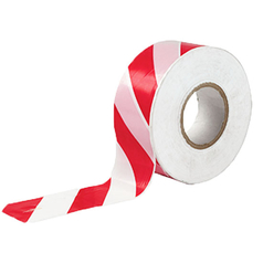Red and White Caution Guard tape