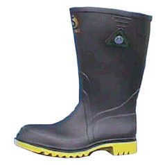 Bata Safemate Black Safety Gumboot with Steel Toecap