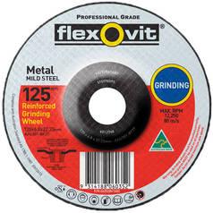 Flexovit A24/30T Metal Depressed Centre Grinding Wheel