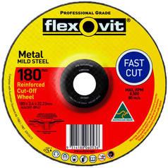 Flexovit A24/30T-BF42 General Purpose Metal Cutting Disc