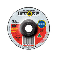 Flexovit A30S-BF27 Metal Grinding Wheel
