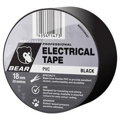 Bear Electrical PVC Black Tape