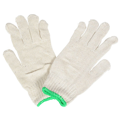 BOC White Poly Cotton Glove