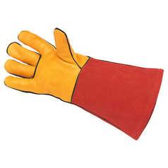 BOC Premium Red Butthide Welding Gauntlet