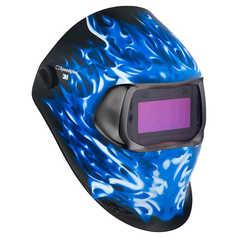 3M Speedglas 100V Graphics Ice Hot Welding Helmet