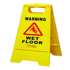 Gala Yellow A-Frame Wet Floor Safety Sign