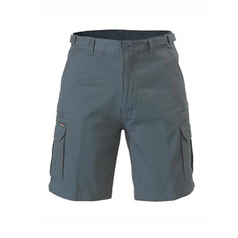 Bisley 8 Pocket Men's Cargo Drill Shorts