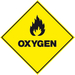 BOC Oxygen Hazchem Signage - 800 x 600 mm
