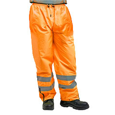 ESCAPE Hi-Vis Isa Waterproof Pants with Reflective Tape