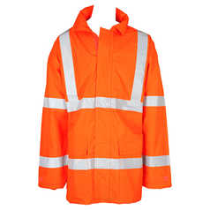 ESCAPE Hi-Vis Anti-Static Fire Retardant Isa Jacket with Reflective Tape