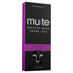 Rhinomed Mute Trial Pack - Small, Medium and Large (Pack of 3)