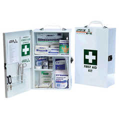 First Aid Workplace Response R2 Kit Metal Wall Mount