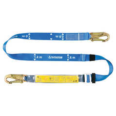 Miller Adjustable Webbing Lanyard with Hooks