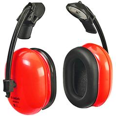 UniSafe RB44CA Hi-Vis Cap Attached Earmuffs