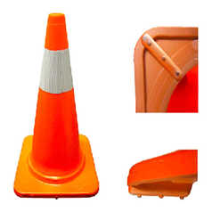 450mm 1.5kg PVC Road Marking Cone