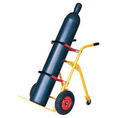 Bottlechock Single Size Cylinder Trolley - Medium