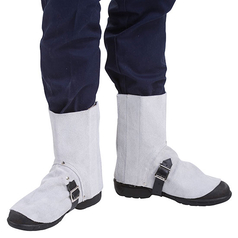 WELD GUARD Velcro Release Leather Welder's Spats
